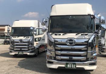 2020.3月 大阪支店 最新型冷凍車導入